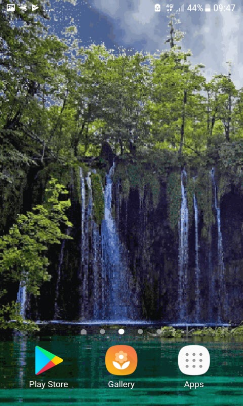 Nature Jungle Waterfall LWP