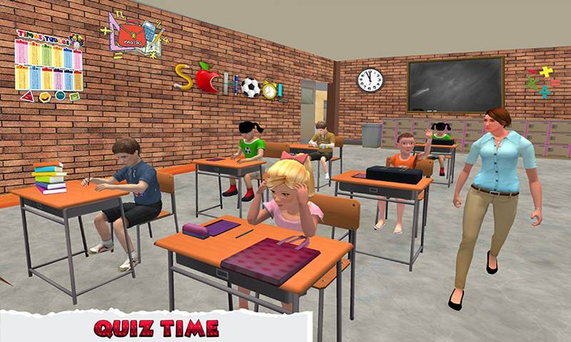 Virtual Kids Preschool Education Simulator