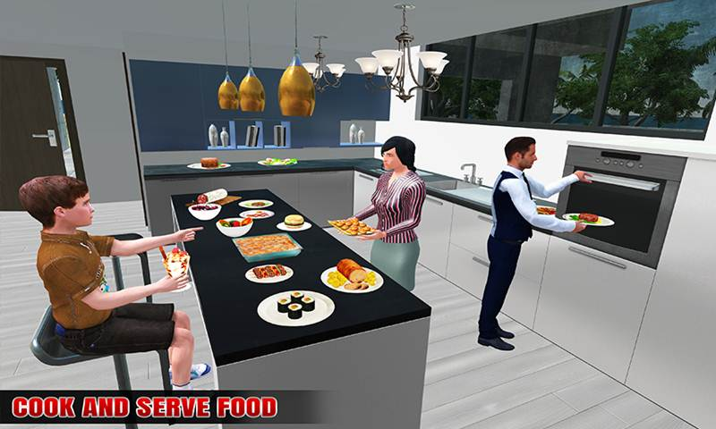 Virtual Rent House Search: Happy Family Life