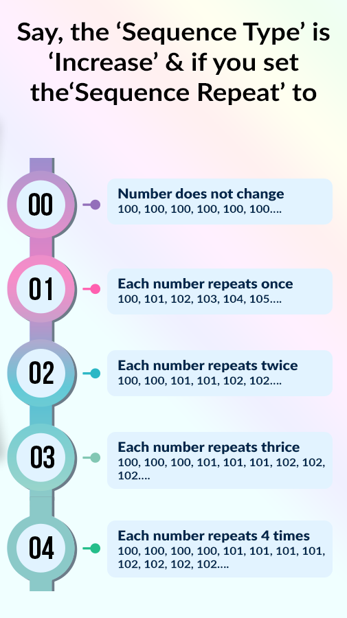 Auto Number Stamp