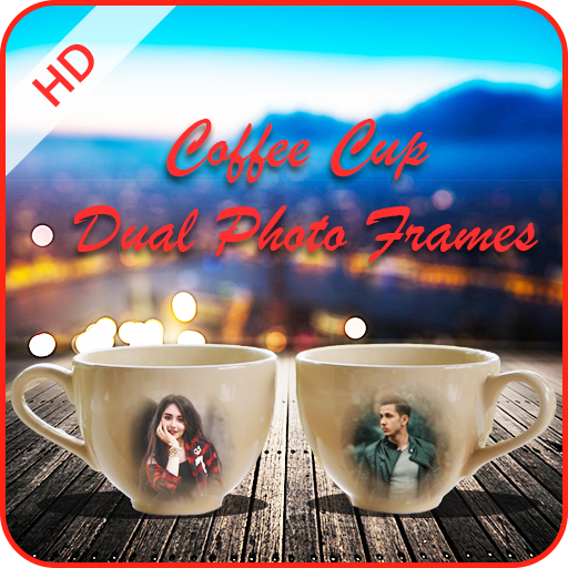 Coffee Cup Dual Photo Frames 2019