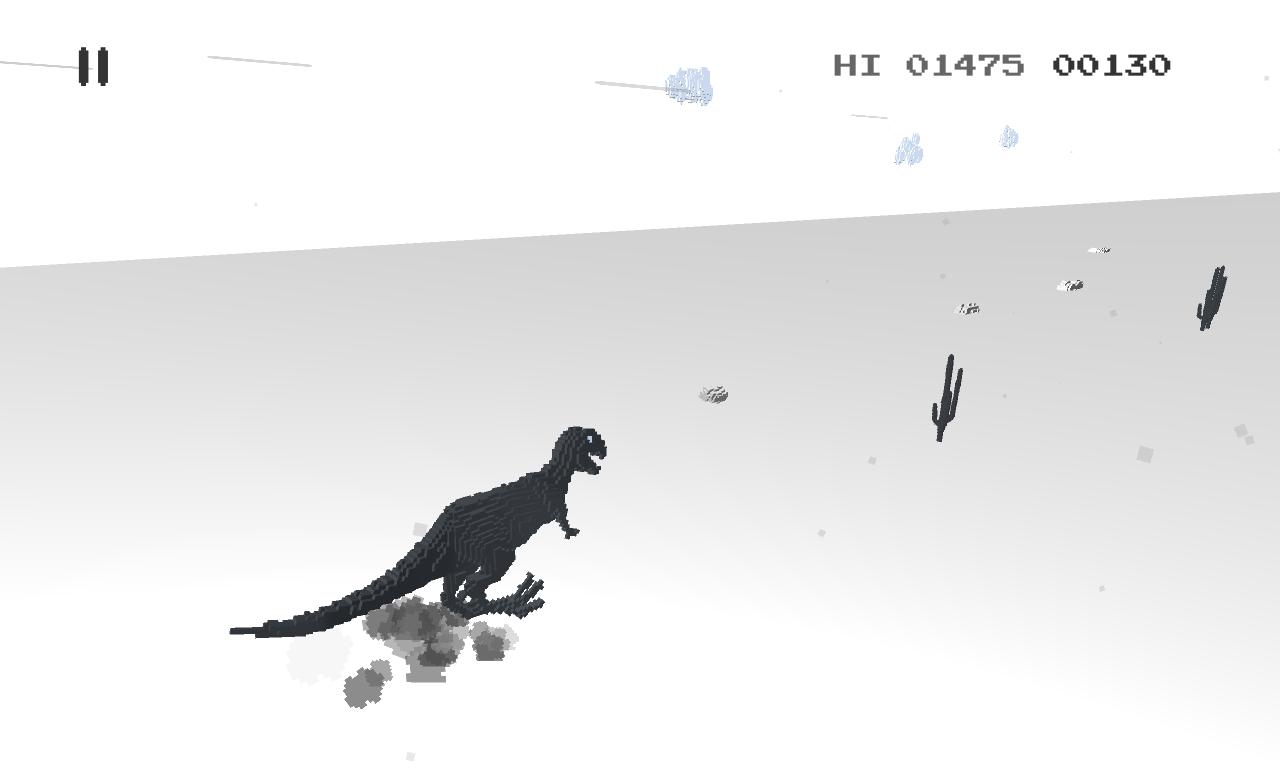 Dino T-Rex 3D Run