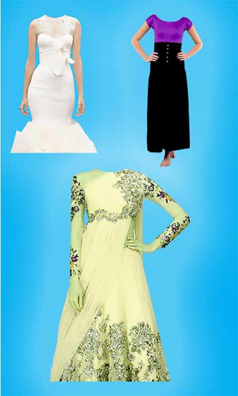 Girls Dress Photo Editor - Face Changer