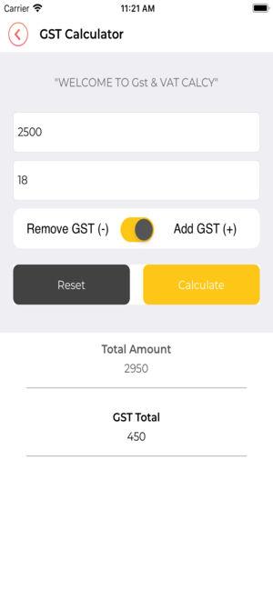 GST EMI - Free Loan Calculator