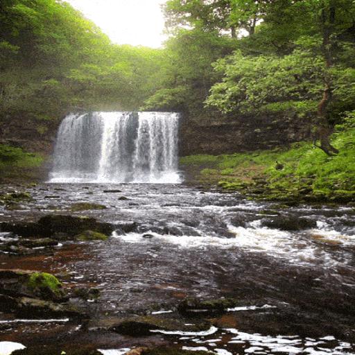 Jungle Waterfall Live Wallpaper