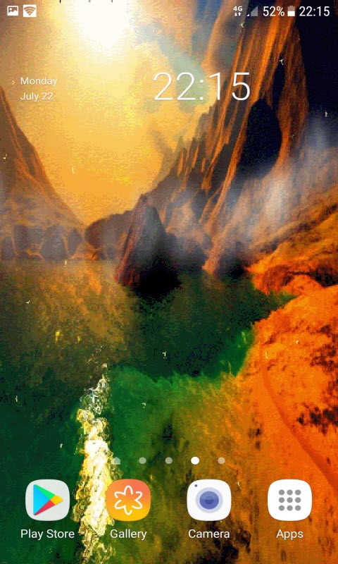 Magical Mountain Live Wallpaper