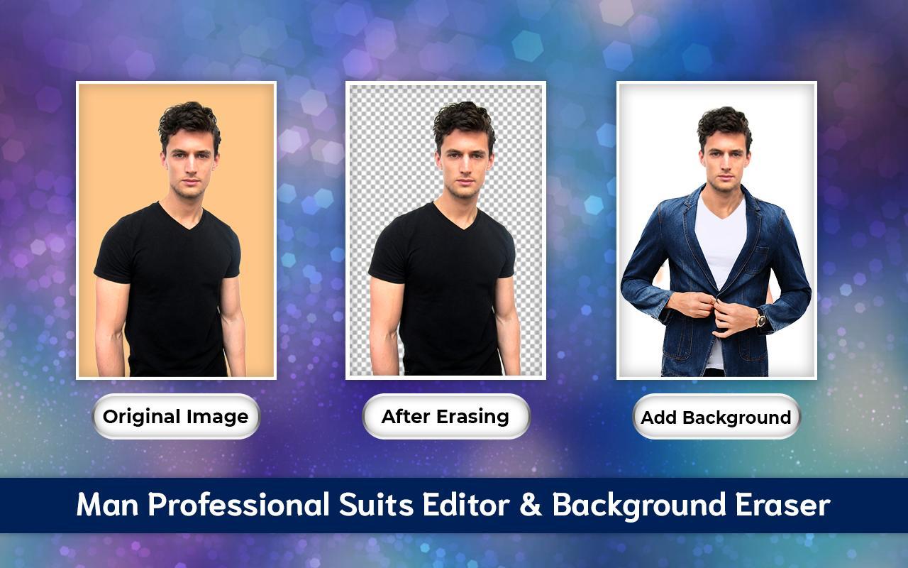 Men Casual Suit Photo Editor 2019- Men's Fashion
