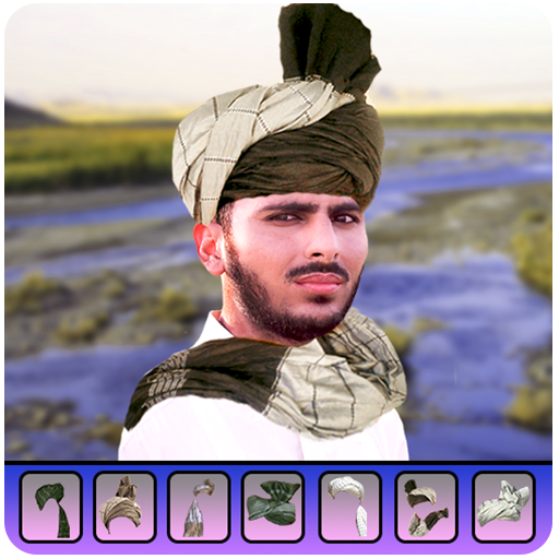 Pathan Afghan Turban Photo Editor – Pakool & Cap