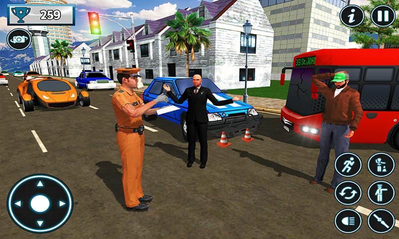 Police City Traffic Warden Duty 2021
