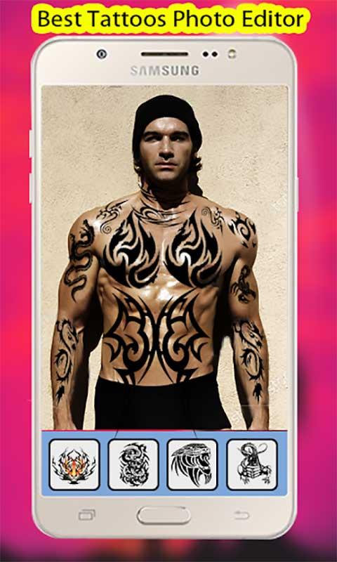 Tattoo On your Photo, Tattoo Design Editor