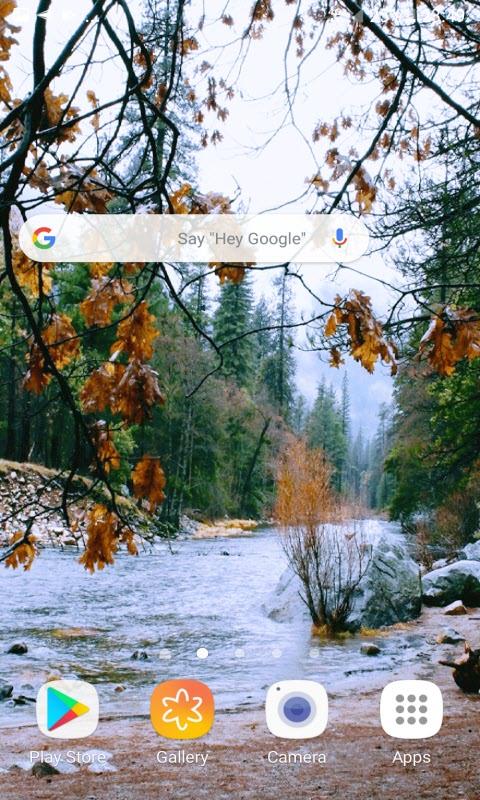 Autumn River Live Wallpaper