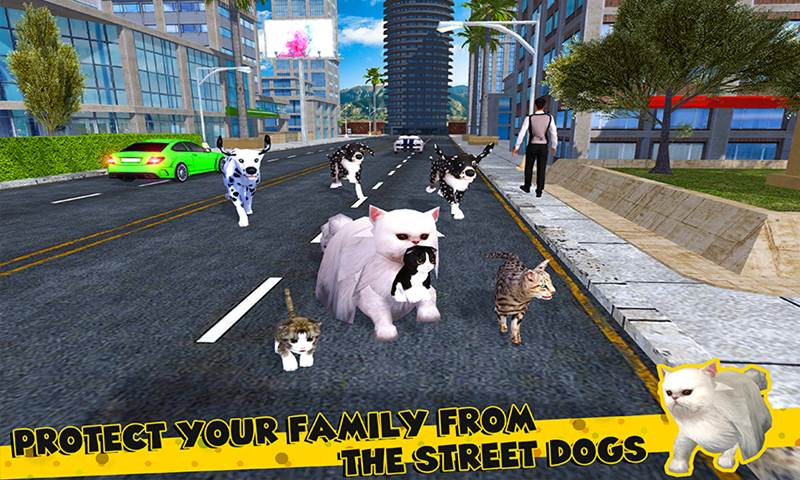 Cat Family Simulator: Stray Cute Kitty Game