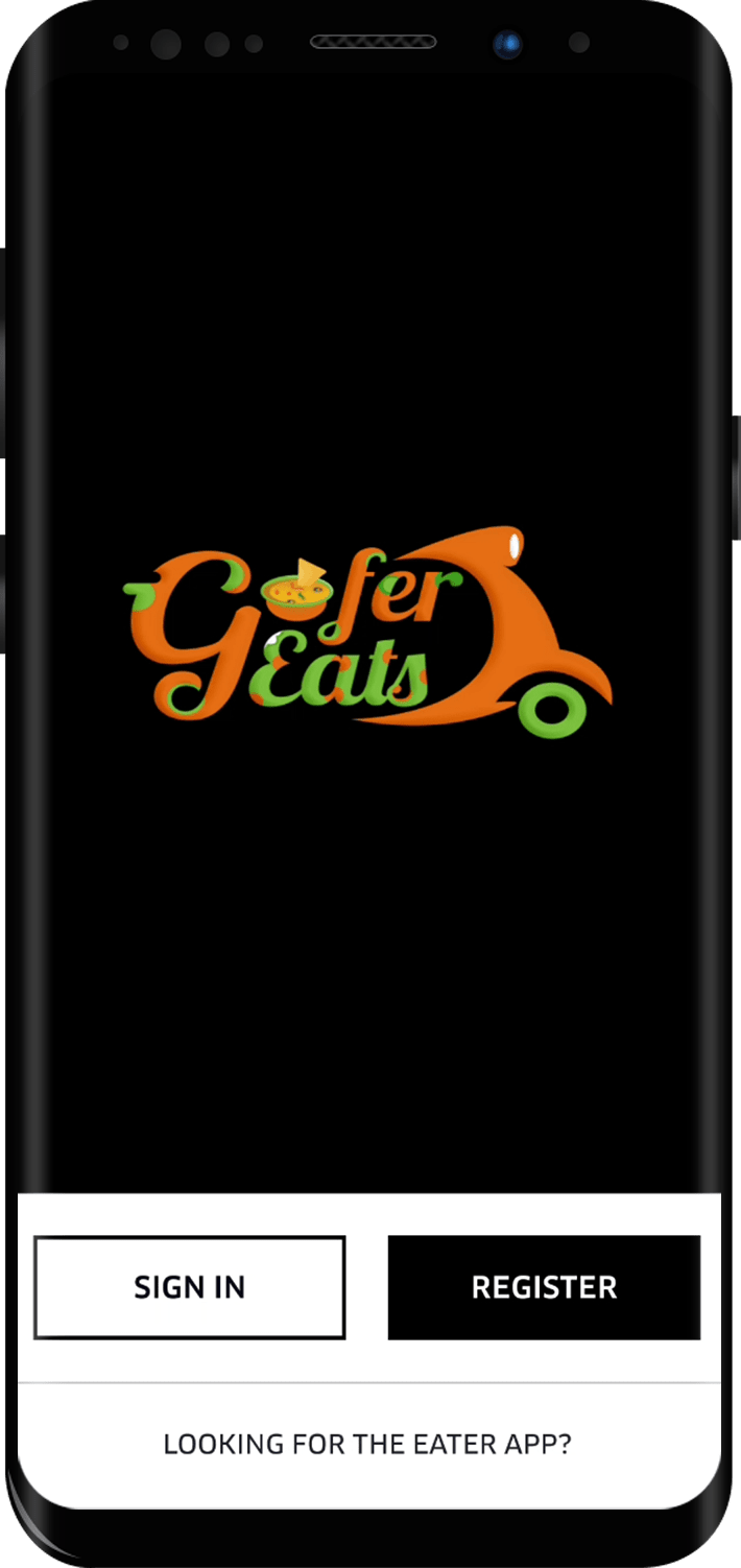 GoferEats -  UberEats Clone Script