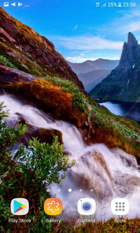 Nature White Water LWP