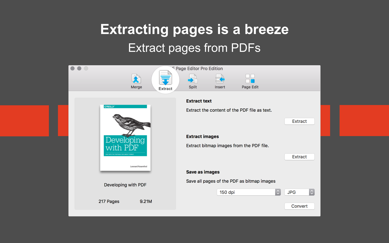 PDF Page Editor Pro Edition