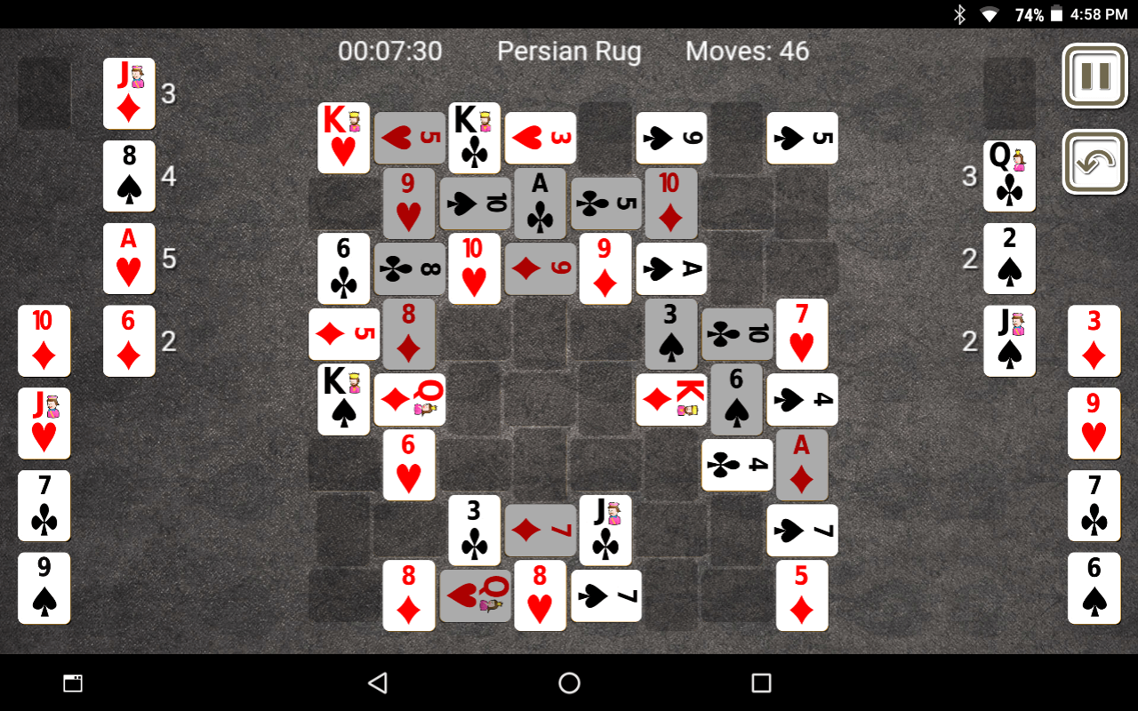 Persian Rug Solitaire