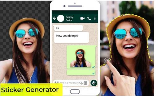 Sticker Maker for WhatsApp : Pics Sticker Maker