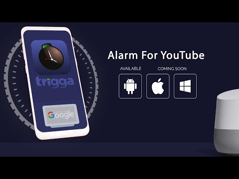 Trigga| Chromecast YouTube Alarms |Smart Home Tech