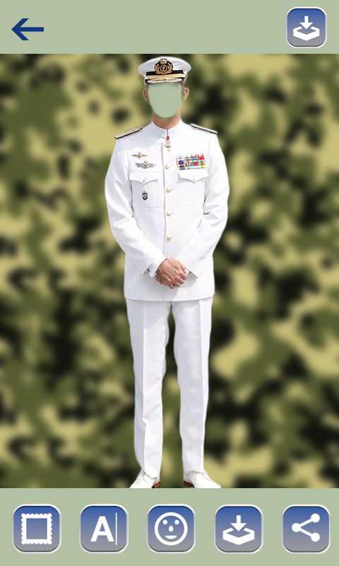 Army Suit Photo Frame - Best All Army Suit Editor