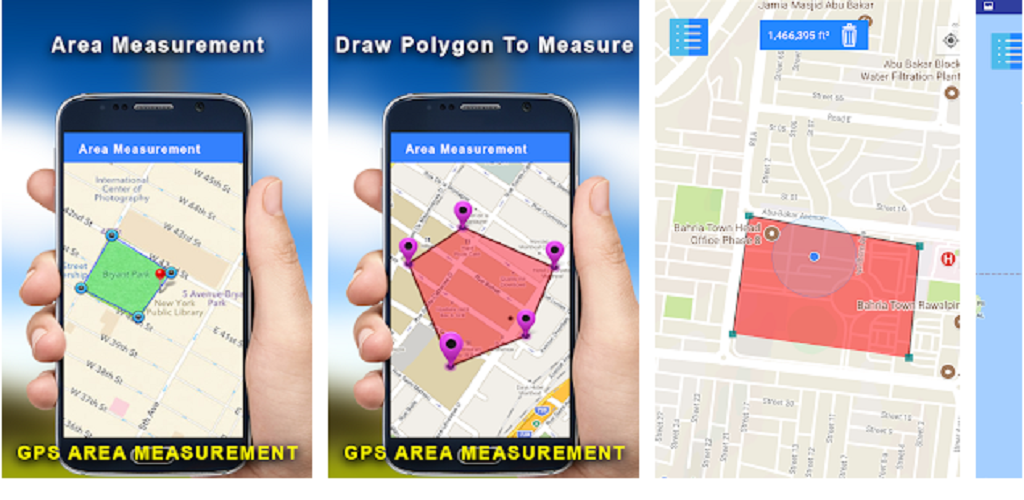 Gps Area Measurement