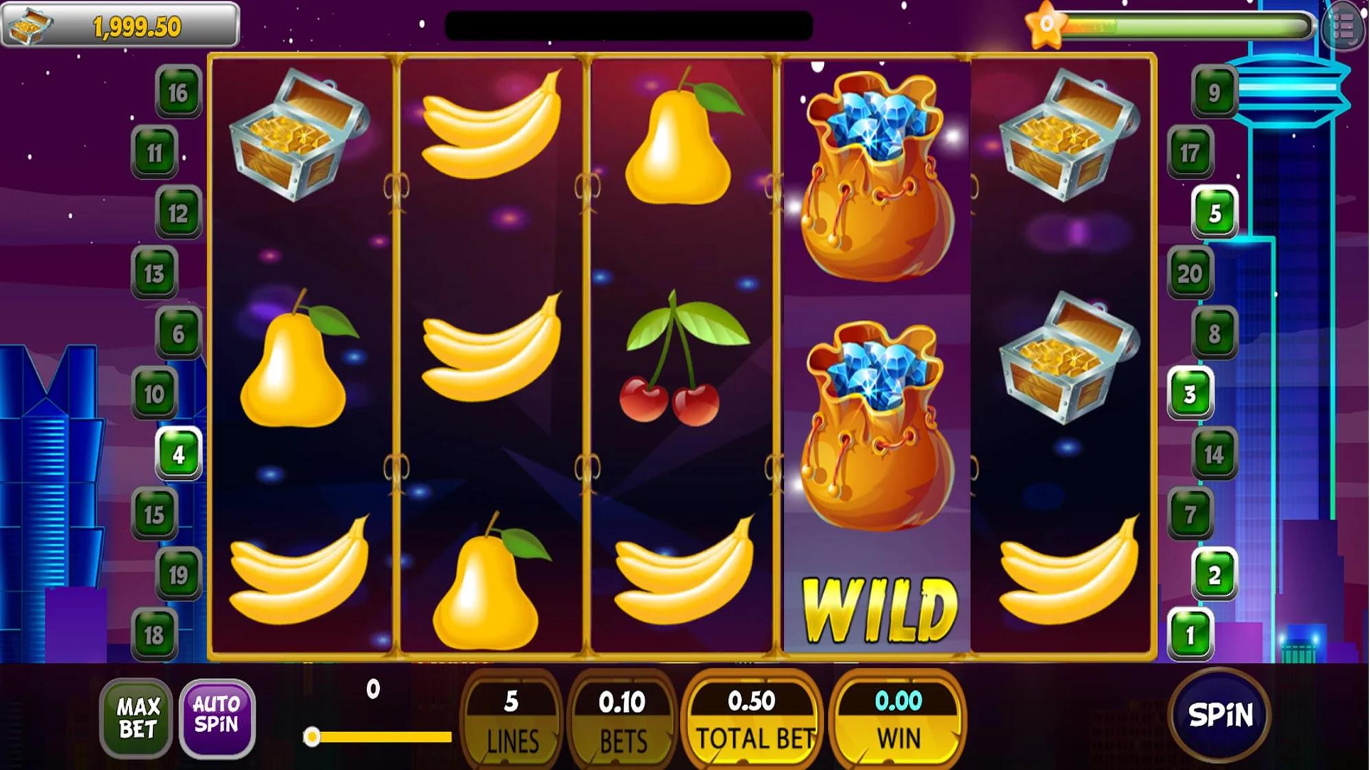 Master Double Slot Machine Vegas Coins