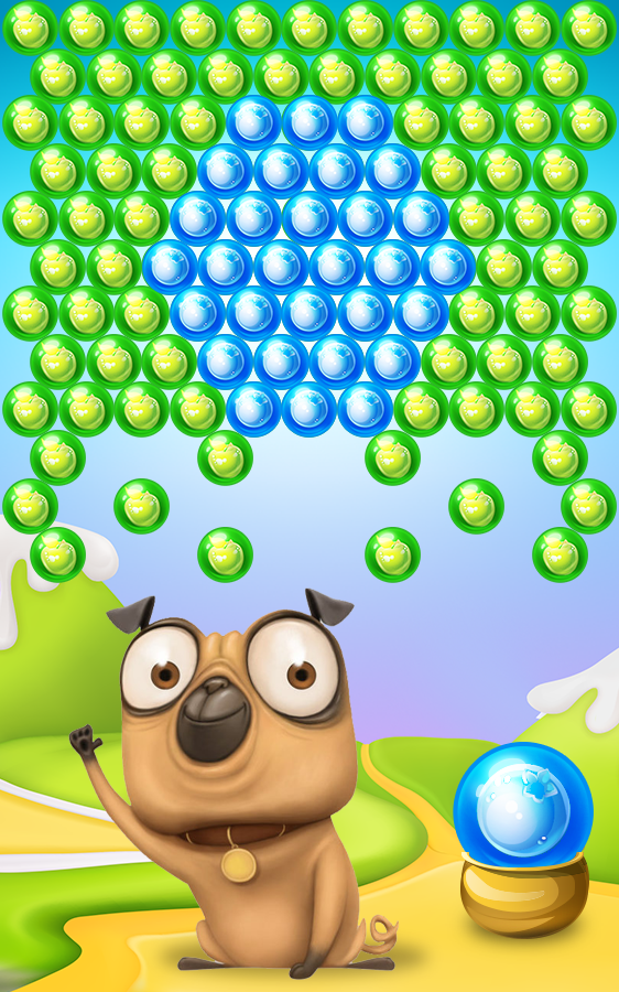Pug Pop Bubble Shooter