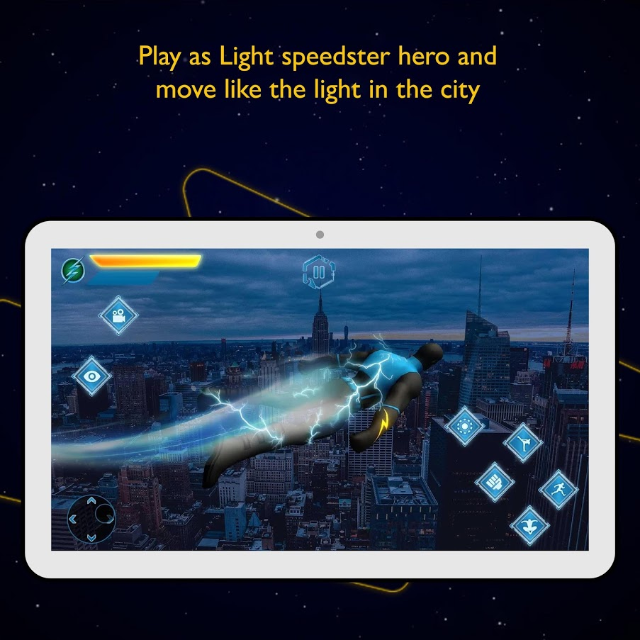 Real Light speed Super Hero 2019 - Action Game