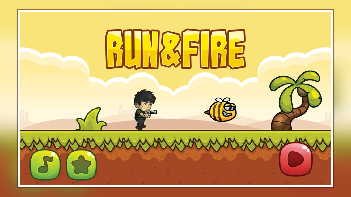 Run and Fire game