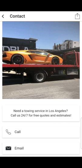 Saar Shani Towing Los Angeles