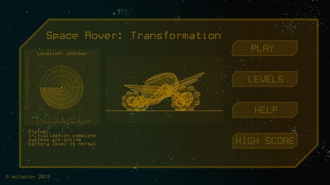 Space Rover: Transformation
