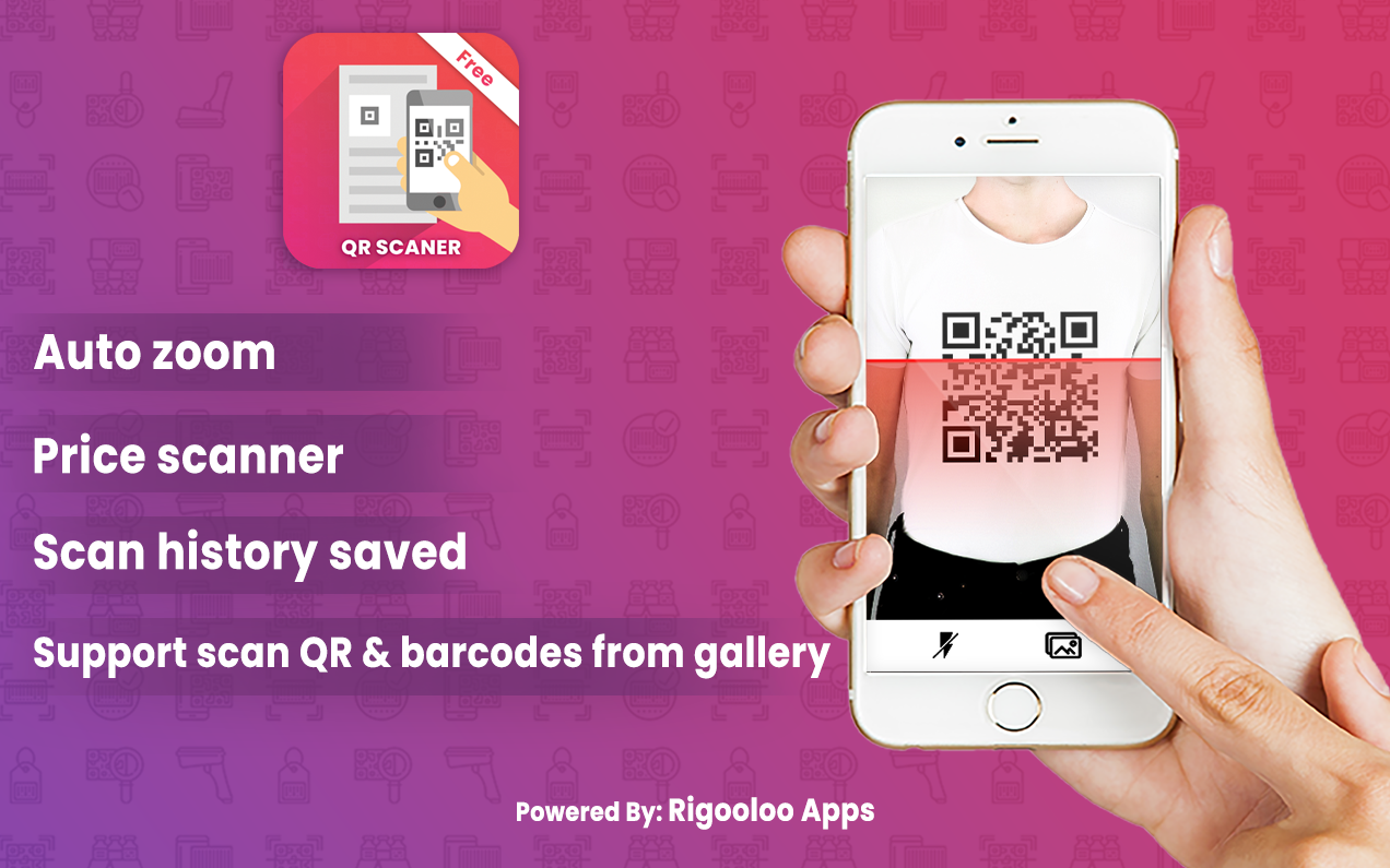 Super Fast Free QR Code And Barcode Scanner Reader