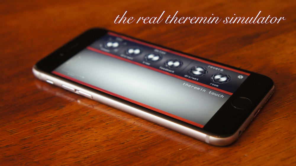 Theremin Touch: Theremin Simulator