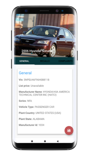 VIN Scanners : Complete Vehicle Data in One App !