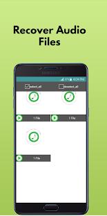 Audio Recovery App