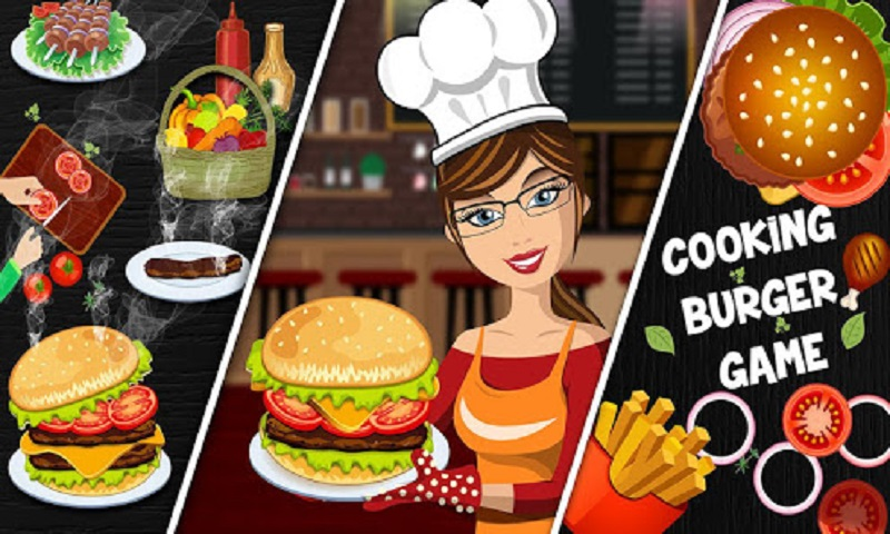 Burger Cooking Game : Burger Food Maker Shop 2019