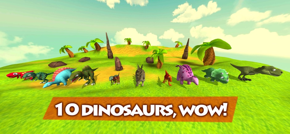 Dinosaur Party: Happy Dinosaurs 2