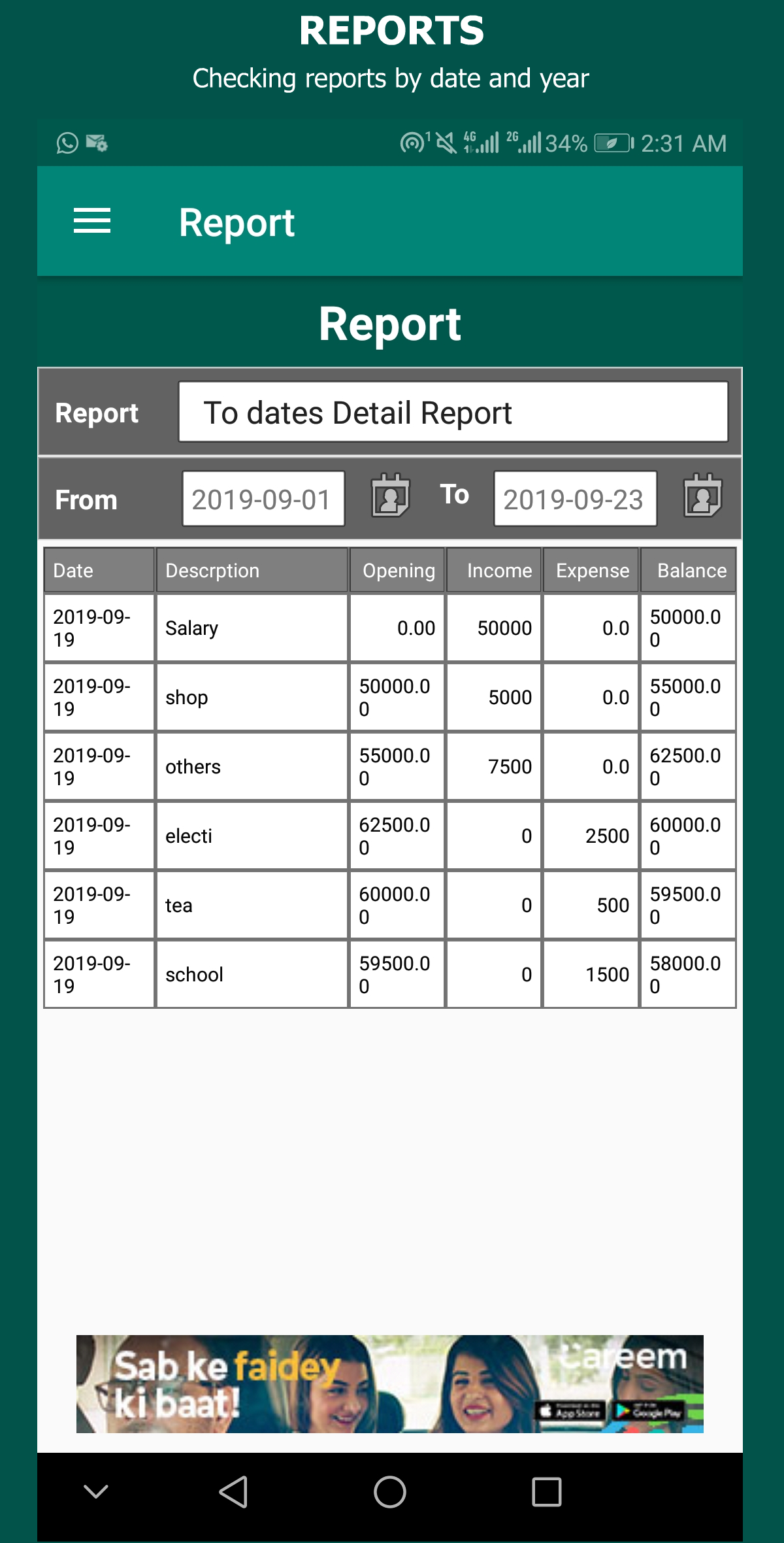 Expense Manager - Budget Planner