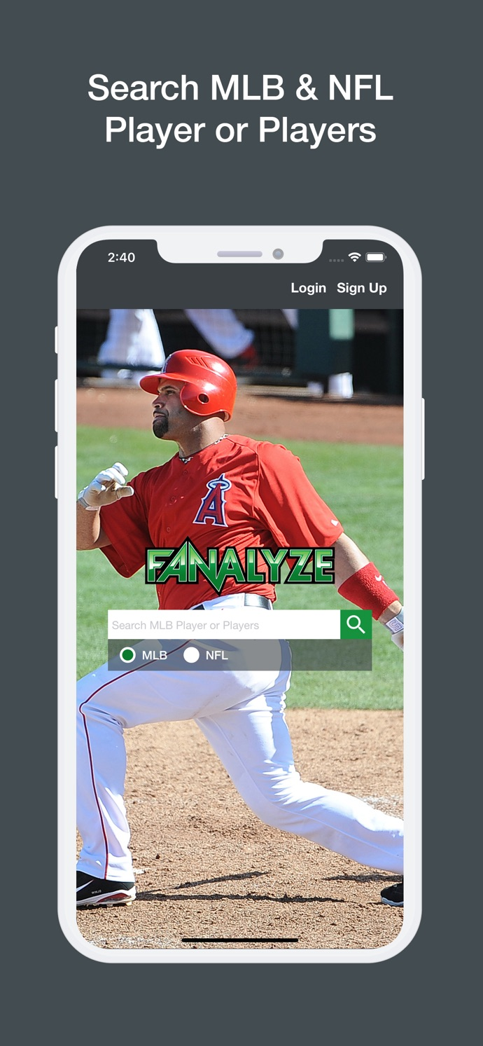 Fanalyze Fantasy Baseball and Football Analysis