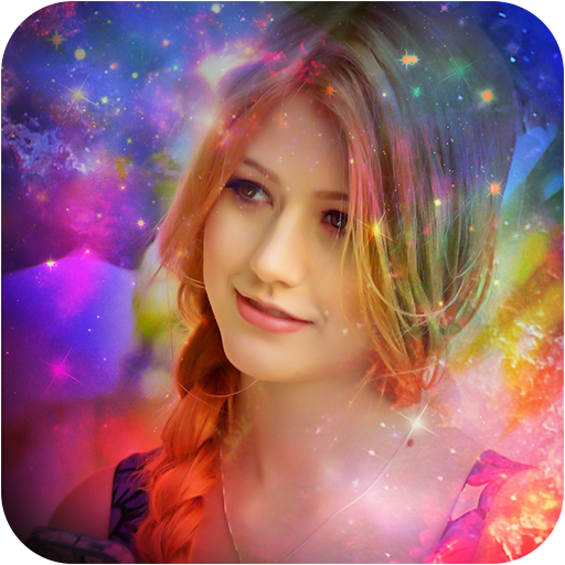 Galaxy Overlay Photo Editor-Light Effects Maker