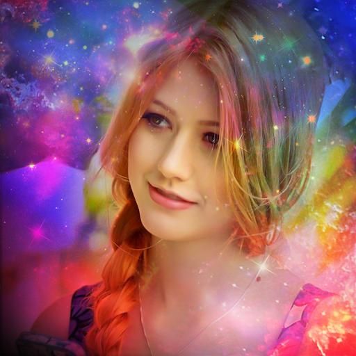 Galaxy Overlay Photo Editor-Light Effects Maker