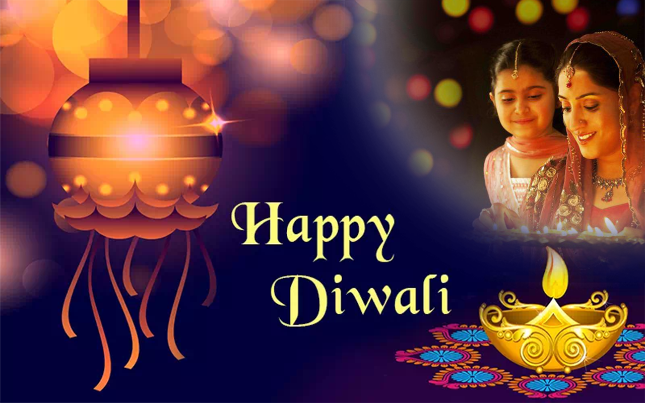 Happy Devali Photo Frame & Diwali Dp Maker