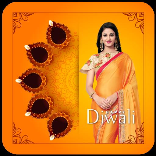Happy Devali Photo Frame & Diwali Dp Maker