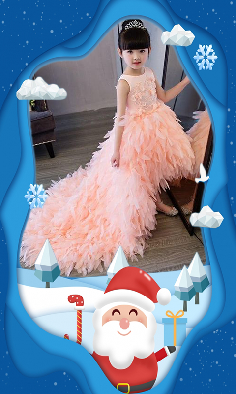 Santa Claus photo frames & Christmas photo editor