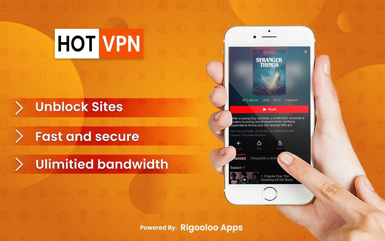 Super Hot Fast VPN Free VPN Proxy Master App VPN