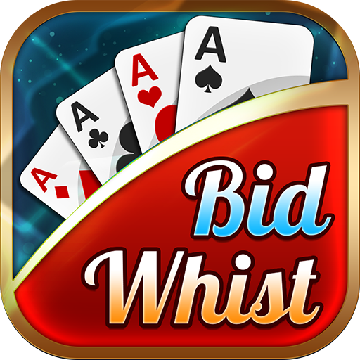 Bid Whist Free – Classic Whist 2 Player Card Game