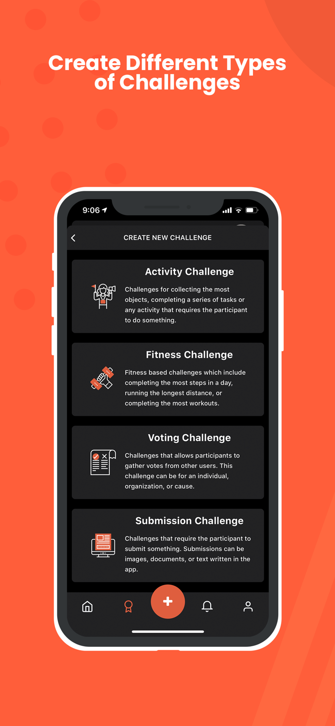 Challenge It - Create & Compete in Challenges