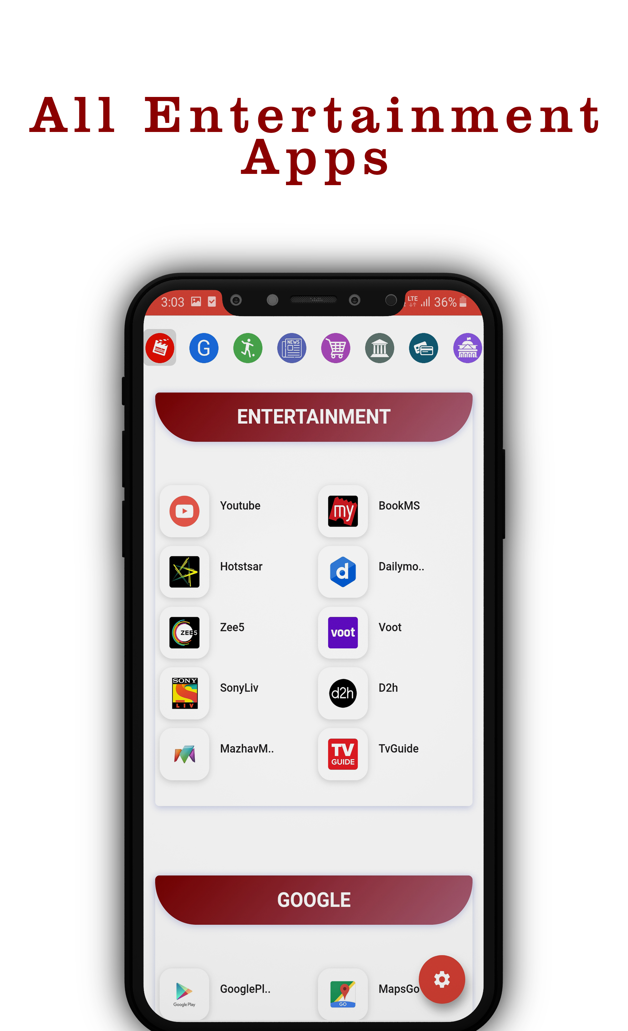 All in one App