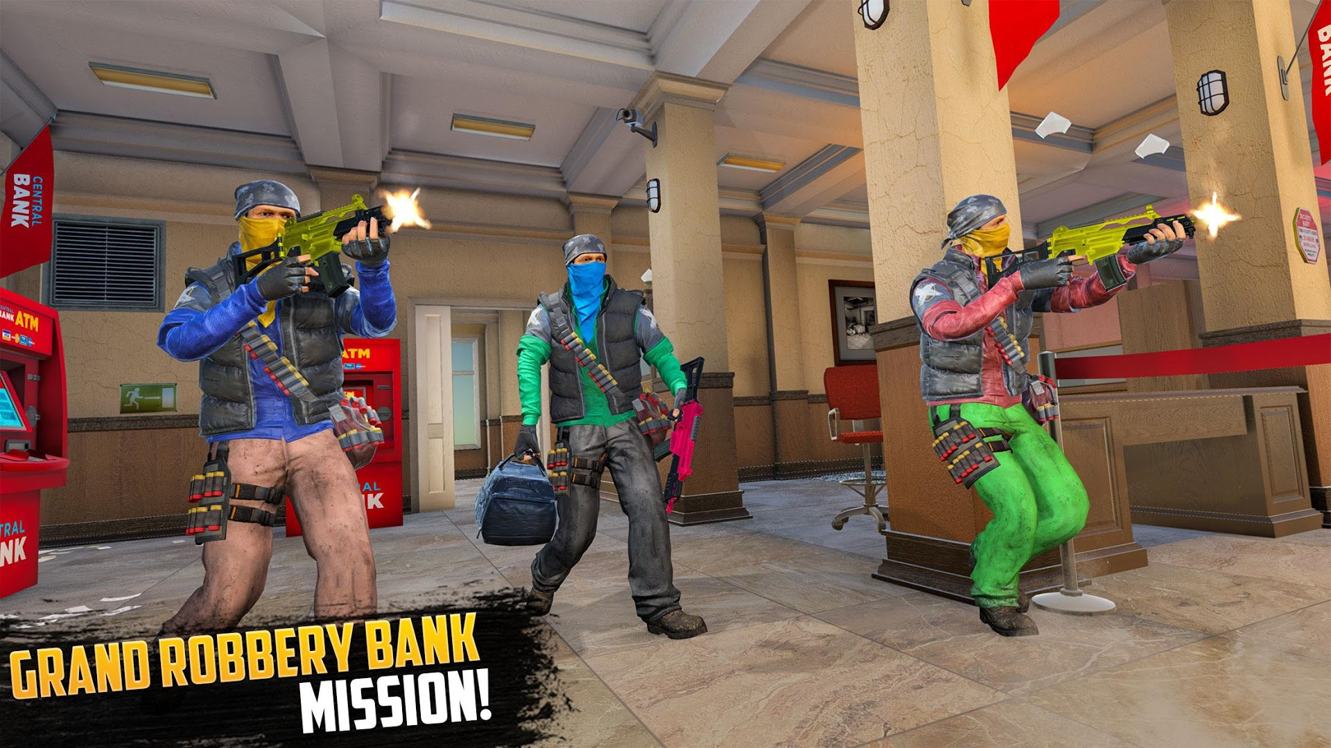 Bank Robbery Grand Crime Gangster Game 2020