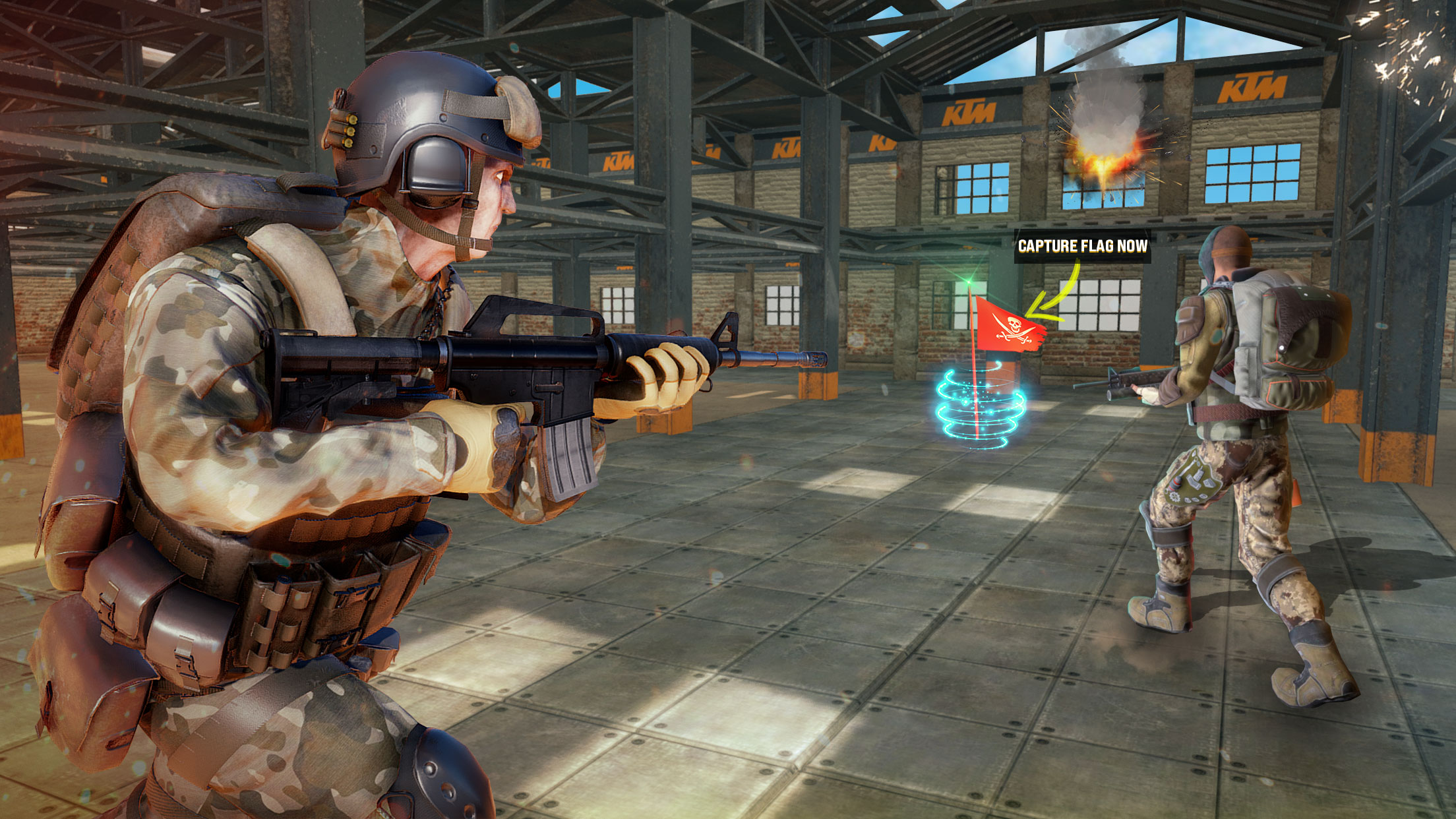 Modern Forces Free Fire Shooting New Games 2021