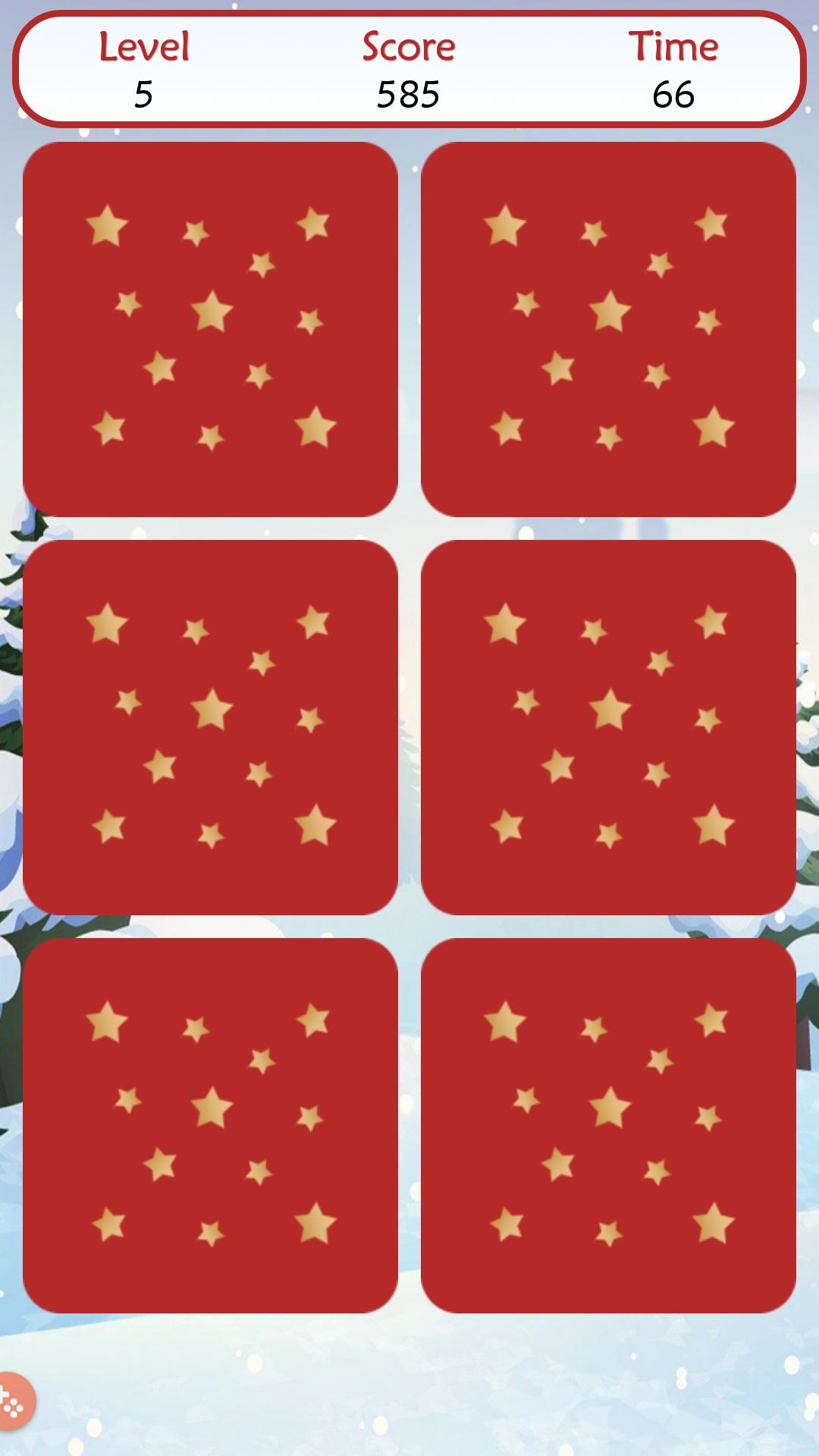 Christmas Memory Game